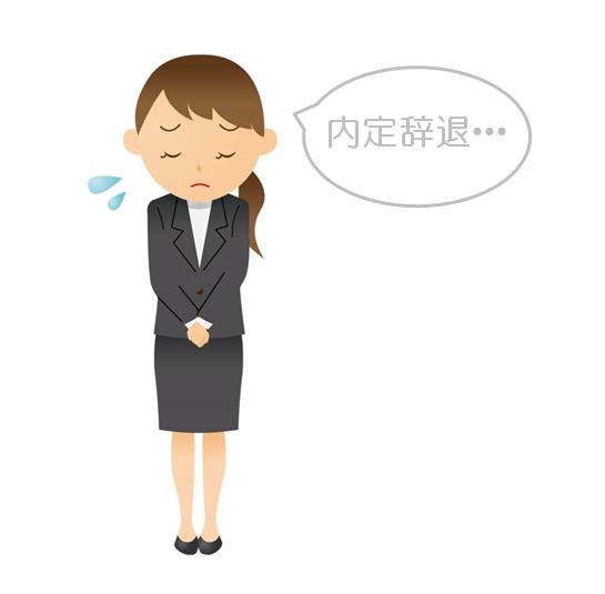 【例文付き】後でもめない内定辞退の方法とマナーは?